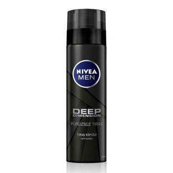 Nivea Men Deep Dimension Tıraş Köpüğü 200Ml