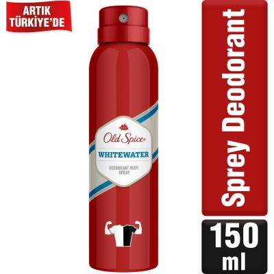 Old Spice Whitewater Sprey Deodorant 150 ml