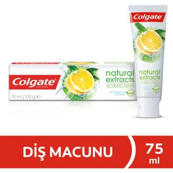 Colgate Natural Extracts Limon Ferahlatıcı Diş Macunu 75 ml