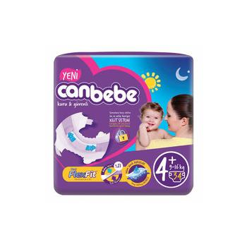 Canbebe Jumbo 4+ Beden (9-16) Maxi Plus 34 Adet