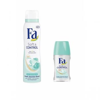 Fa Soft & Control  Deodorant 150 ml + Soft & Control Roll-On 50 m