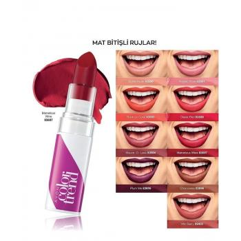 Avon Color Trend Mat Ruj Rock on Coral